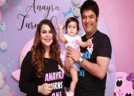 In Pics: Kapil Sharma celebrate daughter Anayra's first birthday