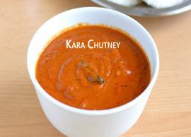 Recipe - Easy To Make Kara Chutney For Idlis
