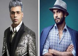 Karan Johar to direct Ranveer Singh in a two hero project; second hero to be locked
