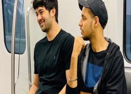 VIDEO- Sunny Deol's son Karan Deol takes a metro ride to reach the sets of his debut film Pal Pal Dil Ke Paas