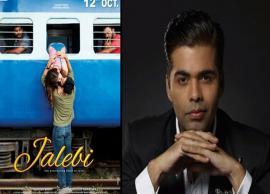 Karan Johar spellbound by the taste of Jalebi's melody