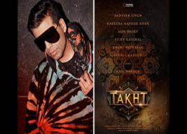 First schedule of Karan Johar's directorial Takht gets delayed