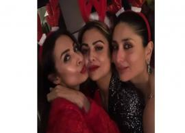 PICS- Kareena Kapoor Celebrates Christmas With Bunny Ears