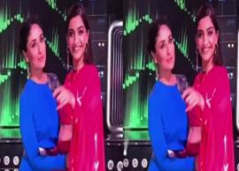 VIDEO- Kareena and Sonam groove to the tunes of 'Tareefan' on the sets of Dance India Dance