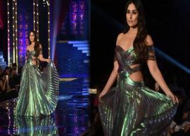 Lakme Fashion Week 2018 : ...जब ऑफ-शोल्डर गाउन पहन रैंप पर उतरी करीना कपूर खान, देखे तस्वीरे-Photo Gallery