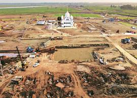 Construction work on Kartarpur Corridor resumes