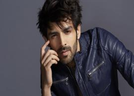 Kartik Aaryan Revels His Look From Pati Patni Aur Woh