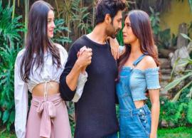 First Poster- Kartik Aaryan, Bhumi Pednekar, Ananya Panday roped in for 'Pati Patni Aur Woh'