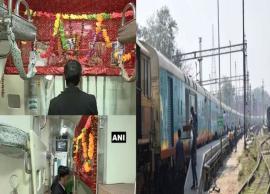 Kashi-Mahakal Express gets a temple on wheels dedicated to Lord Shiva