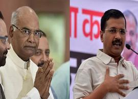 Arvind Kejriwal Appointed as Delhi Chief Minister In The Presence of President Ram Nath Kovind