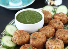 Navratri Recipe- Crunchy and Delicious Kacche Kele ki Tikki