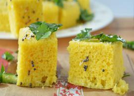 Recipe- Make Your Sunday Happy With Khaman Dhokla