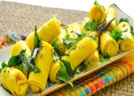 Recipe- Gujarati Style Khandvi at Home