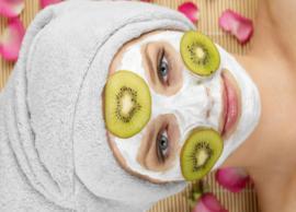 DIY Kiwi Face Mask To Help Skin From Damage