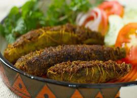 Recipe- Deep Fried Bharwa Karela