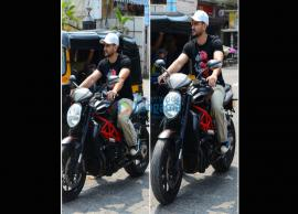 Kunal Kemmu Fined For Riding Without Helmet