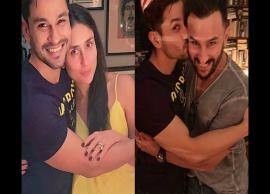 PICS- Kareena Kapoor, Saif Ali Khan host a fun house party for Kunal Kemmu on his birthday