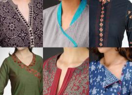 5 Trending Kurti Neckline Designs
