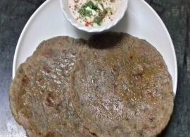 Navratri Recipe- Open Your Fast With Kuttu Ka Paratha