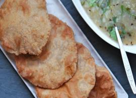 Navratri Recipe- Crispy and Delicious Kuttu Ki Poori