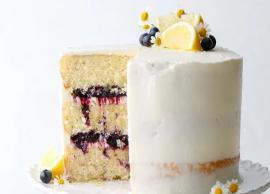 Recipe- Lemon Blueberry Cake Dessert for Breakfast