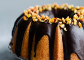 Recipe- Lemon Bundt Cake With Chocolate Glaze