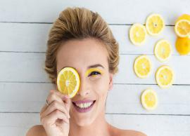 5 Ways To Use Lemon To Treat Dark Circles