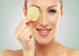 5 Amazing Benefits of Lemon For Skin
