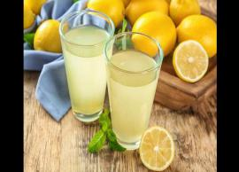 5 Health Benefits of Drinking Lemon Juice