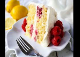 Recipe- Try Mouthwatering Lemon Raspberry Cake