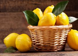 6 Side Effects of Consuming Excess of Lemons