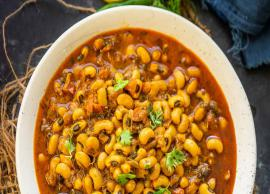 Recipe- Healthy and Delicious Lobia Curry