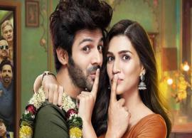 VIDEO- Kartik Aaryan, Kriti Sanon's take on live-in relationship will tickle your funny bones with Lucka Chuppi Trailer