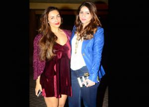 PICS- Star Studded Christmas Party Was All About HOT looks of Bollywood Girl Gang