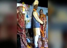 VIDEO- 2 cousin sisters marry same man, in same mandap in Madhya Pradesh