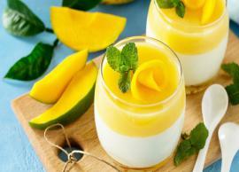 Recipe- Tasty Italian Mango Panna Cotta To Beat Summer Heat