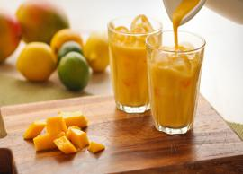 Recipe- Healthy and Cool Mango Smoothie