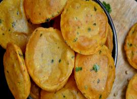 Recipe- Perfect for Snacks Sweet Potato Masala Puri