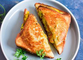 Recipe- Bakery Style Masala Toast