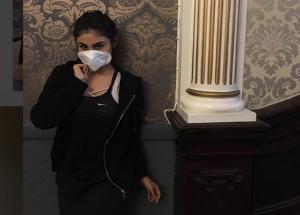 From Bipasha Basu To Krystal D'Souza, These Beauties Posting Mystrious Masked Pics