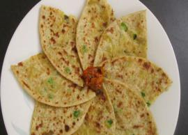 Recipe- Healthy Matar Paratha For Chilled Winter Evenings