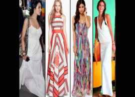 5 Maxi Dresses To Try in Summers