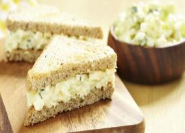 Recipe- Mayonnaise Cheese Sandwich For Perfect Morning