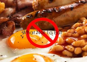 5 Food That Were not Meant For Breakfast