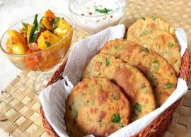 Recipe- Healthy For Winters Bajra Methi Poori