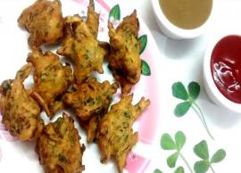 Recipe- Methi Pakoda For Evening Snack