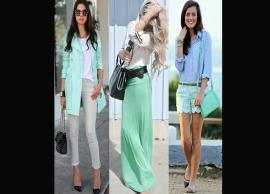 Tips To Wear Mint Green Color
