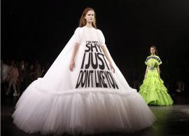 PICS- Models wear memes at Paris fashion show runway couture is taking the internet by storm