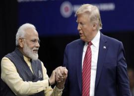 PM Modi speaks to Donald Trump; expresses desire to enhance cooperation in areas of mutual interest