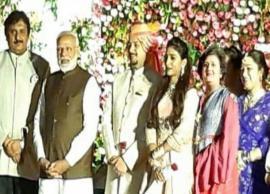 PM Modi attends Mohena Kumari Singh's royal reception in Delhi, clicks selfies